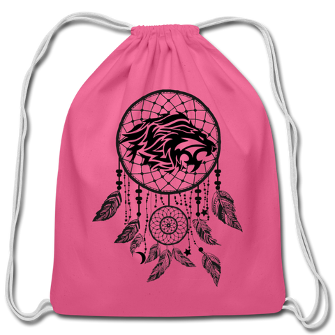 Roaring Lion Dream Catcher — Cotton Drawstring Bag - What Teens Need