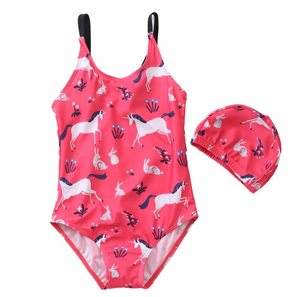 Girls Swimwear One Piece