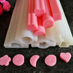 Dolphin Round Heart Shape Silicone Soap Mold Pipe Tube Handmade Cake Baking Tool