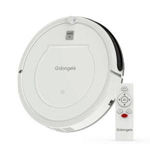Auto-recharge robot vacuum cleaner, docking station, 450ml bin,dry mop combo HB-1002 (white)