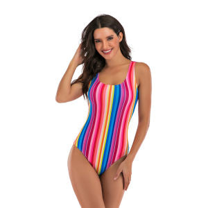 Factory Stock Women One Piece Fashion Swimsuit