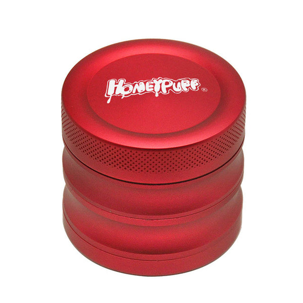 HONEYPUFF Aircraft Aluminum Tobacco Herb Grinder 56MM 4 Layers