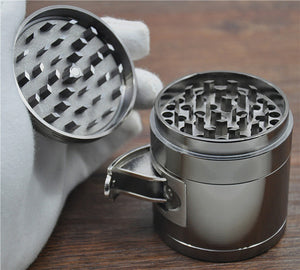 Premonition Big Grinder 4 Layer Herb Grinder - High Quality Zinc Alloy