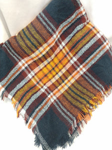 Blanket Scarves Plaid
