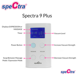 Spectra 9+ Double Pump (FREE Spectra Handsfree Cup worth $98)