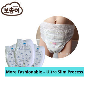 Bosomi Real Cotton Underpants type (Boy L Size) 30 pcs/bag