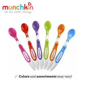 Munchkin Soft Tip Infant Spoons (Pack of 6)