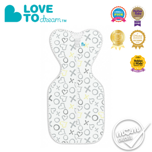 Love To Dream Swaddle Up BAMBOO LITE WHITE