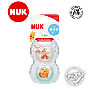 NUK Disney Silicone Sleeptime Soother 6-18mths