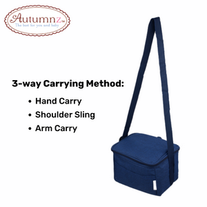 Autumnz Fun Foldaway Cooler Bag Bay Blue