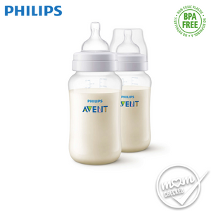 Philips Avent PP Anti-Colic Bottle 330ml (Twin Pack)