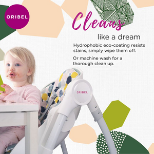 ORIBEL - Modern High Chair Delicious Collection- Seat liner