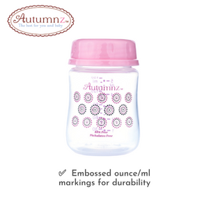 Autumnz - Standard Neck Breastmilk Storage Bottles *2oz* (4 btls)