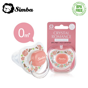 Simba Crystal Romance Pacifier (From 0 to 6+ Month)
