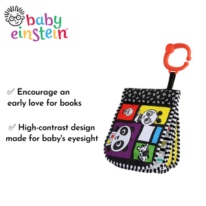 Baby Einstein Primary Pages High Contrast Book