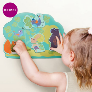 ORIBEL - Hoppy Bunny & Friends (2 & 3 Piece Puzzle)