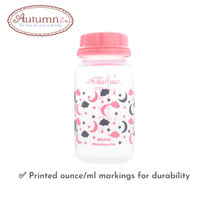 Autumnz Standard Neck Breastmilk Storage Bottles 5oz (4 btls)