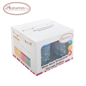Autumnz Wide Neck Breastmilk Storage Bottles 5oz (4 btls)