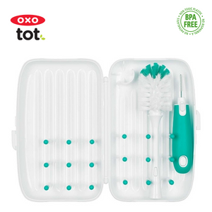 OXO Tot On-The-Go Drying Rack with Bottle Brush