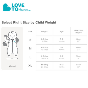 Love To Dream Swaddle Up Transition Suit Lite 0.2 TOG
