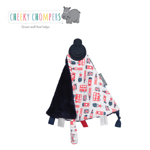 Cheeky Chompers Comfortchew Comforter - London Town
