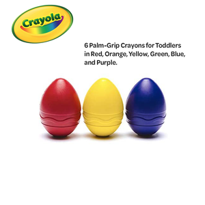 Crayola My First Palm Grip Crayons 3 Count