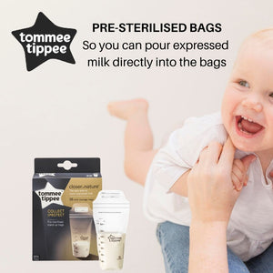 Tommee Tippee Closer To Nature 36Pk Milk Storage Bags (350ml)