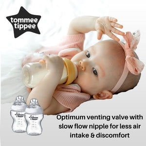 Tommee Tippee Closer To Nature Pp Bottle 260ml/9oz (Twin Pack)