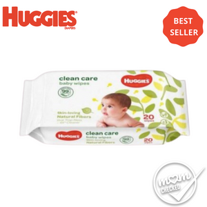 Huggies Clean Care Baby Wipes