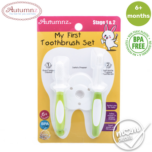 Autumnz My First Toothbrush Set (Stage 1 & 2)