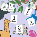 Load image into Gallery viewer, Kahlo's Koalas 1, 2, 3, Count Art with Me by Grace Helmer