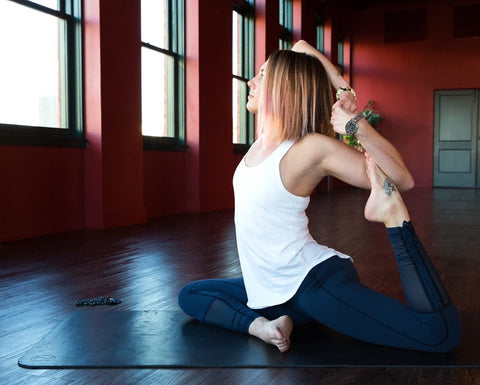 Healthy living blog series discusses benefits of yoga and tea