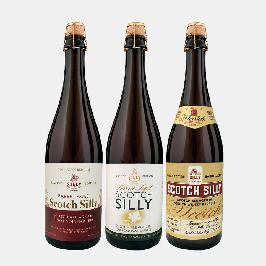 Silly Barrel Aged 750ml Mix Pack