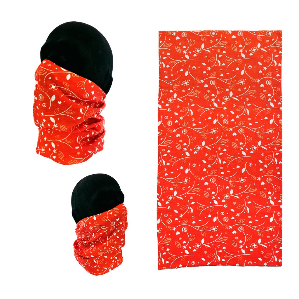 Neck Gaiter - Orange