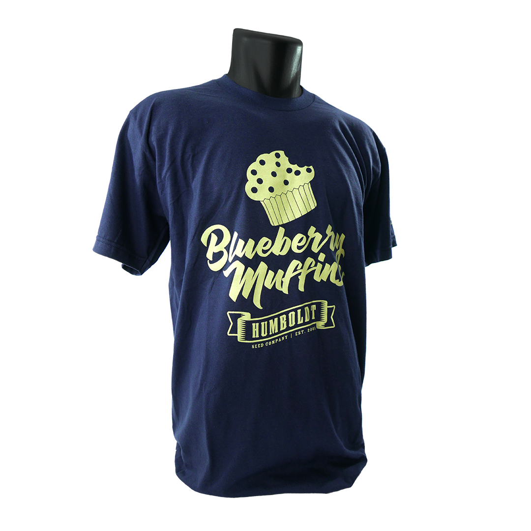 T-Shirt - The HumboldtSeedCo - Blueberry Muffins