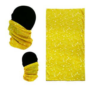 04. Neck Gaiter - Yellow