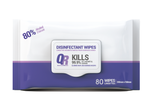 QR Health and Wellness 80% Alcohol base Disinfectant Wipes 200mmx150mm (100 / 80 Wipes)