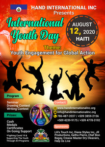 International Youth Day Support | Haiti 2020 | Covid 19 Relief