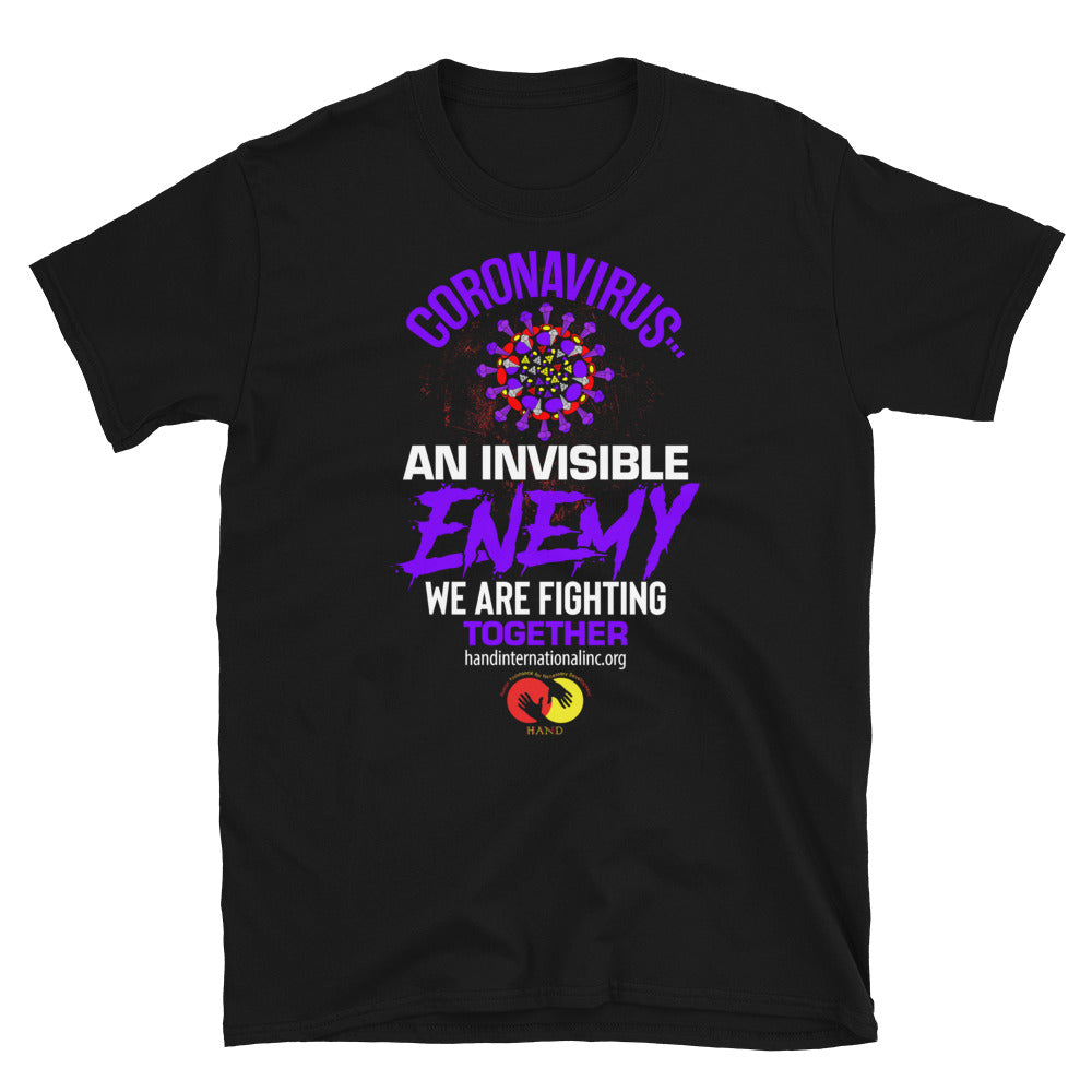 Fight Corona Virus Support Short-Sleeve Unisex T-Shirt