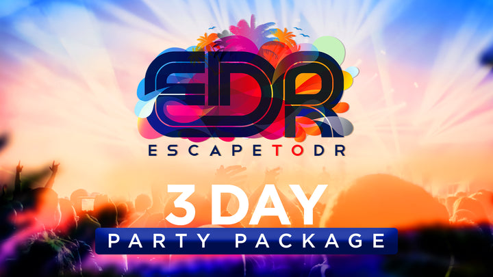 EDR *3 Day* Party Package Super Early Bird