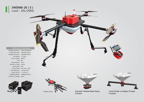 Drone- UAV for Seeds planting