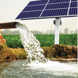 Solar Water Pump System (Without Borewell)