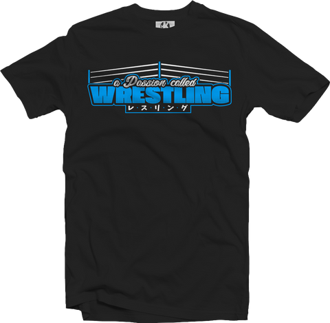 T-Shirt: A Passion called Wrestling (Restbestand)