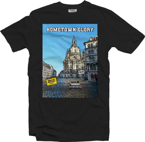 T-Shirt: Wrestling, Bier & Fritten - Hometown Glory