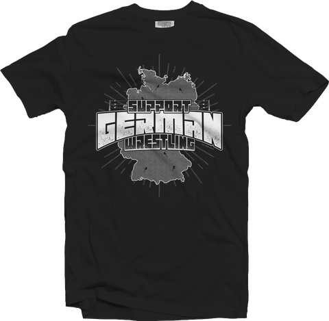 T-Shirt: Support German Wrestling