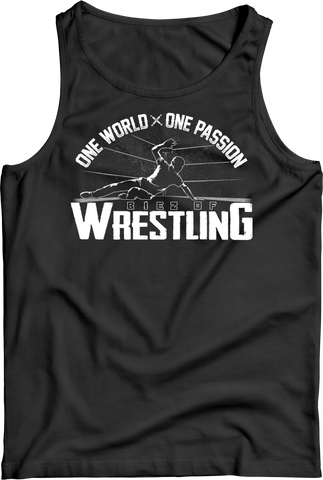 Tank Top: Reno Biez - One World - one Passion