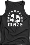 Tank Top: Stephanie Maze - Skull