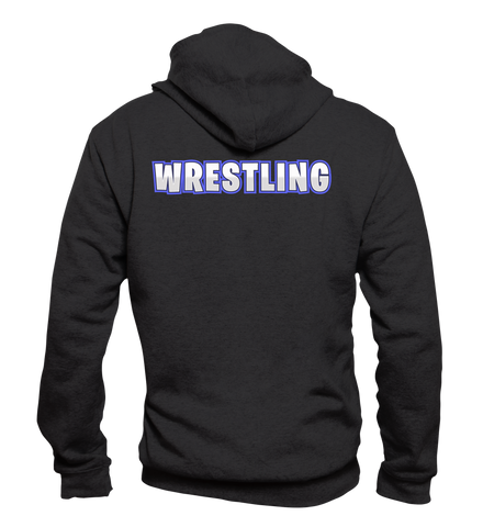 Hooded Zip-Jacke: Wrestling