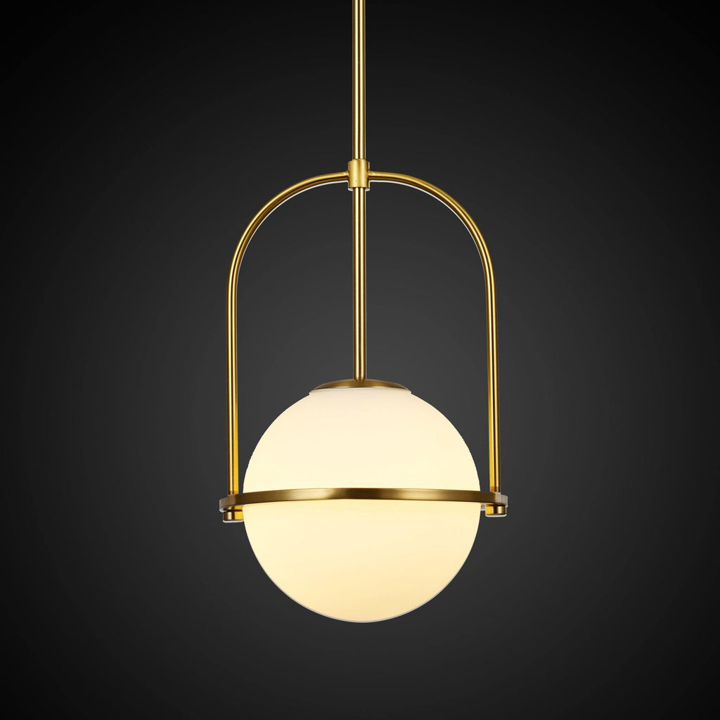 Ankur Frosted Glass Pendant