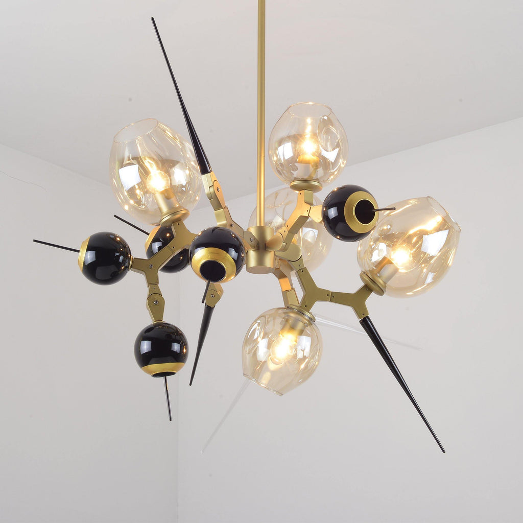 Ankur Burst 5 Light Modern Contemporary Chandelier